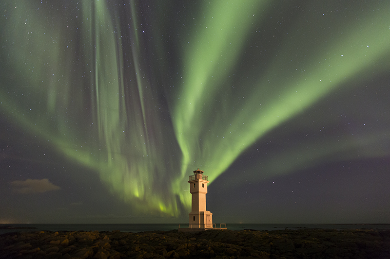 The old lighthouse in Akranes