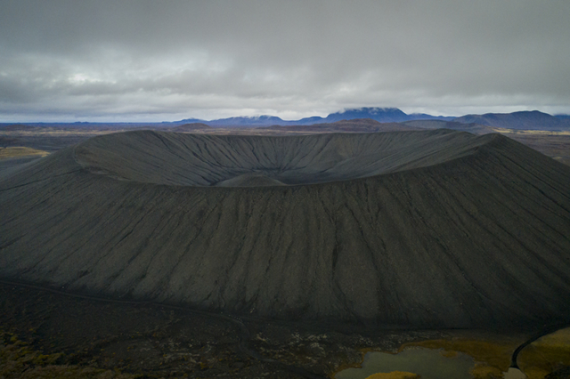 The Crater Hverfjall