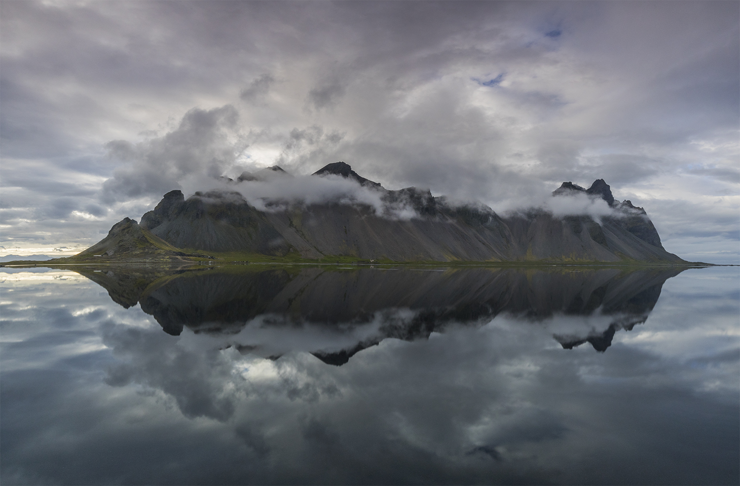 Mountain Vestrahorn - pano