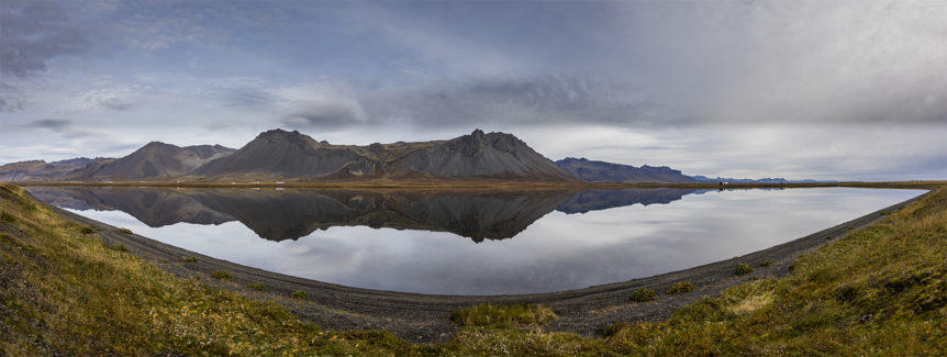 Reflection at Snaefellsnes peninsula