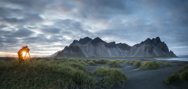 Vestrahorn pano. Award picture from photo contest summer 2017
