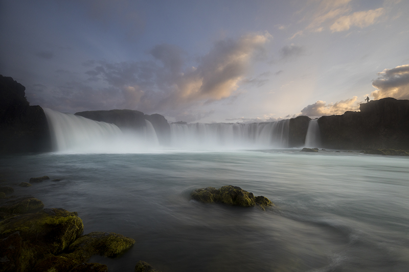 Waterfall Godafoss