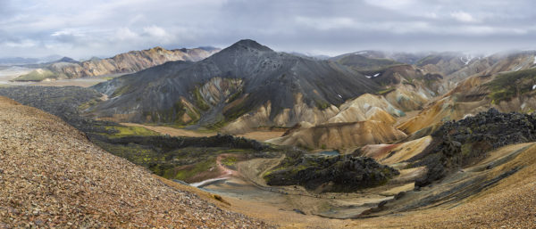 Colours of highland, Landmannalaugar