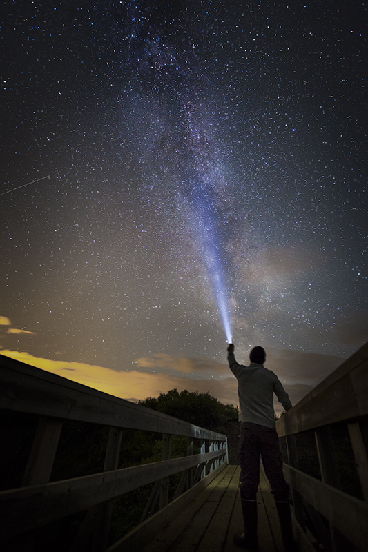 My self and the Milky way