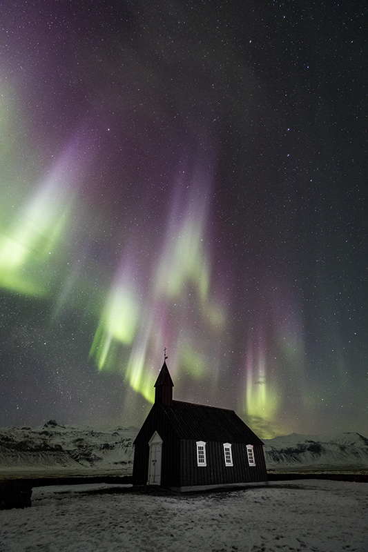 Black Church and Aurora
