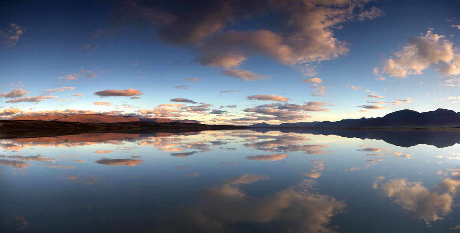 Panorama of great reflection