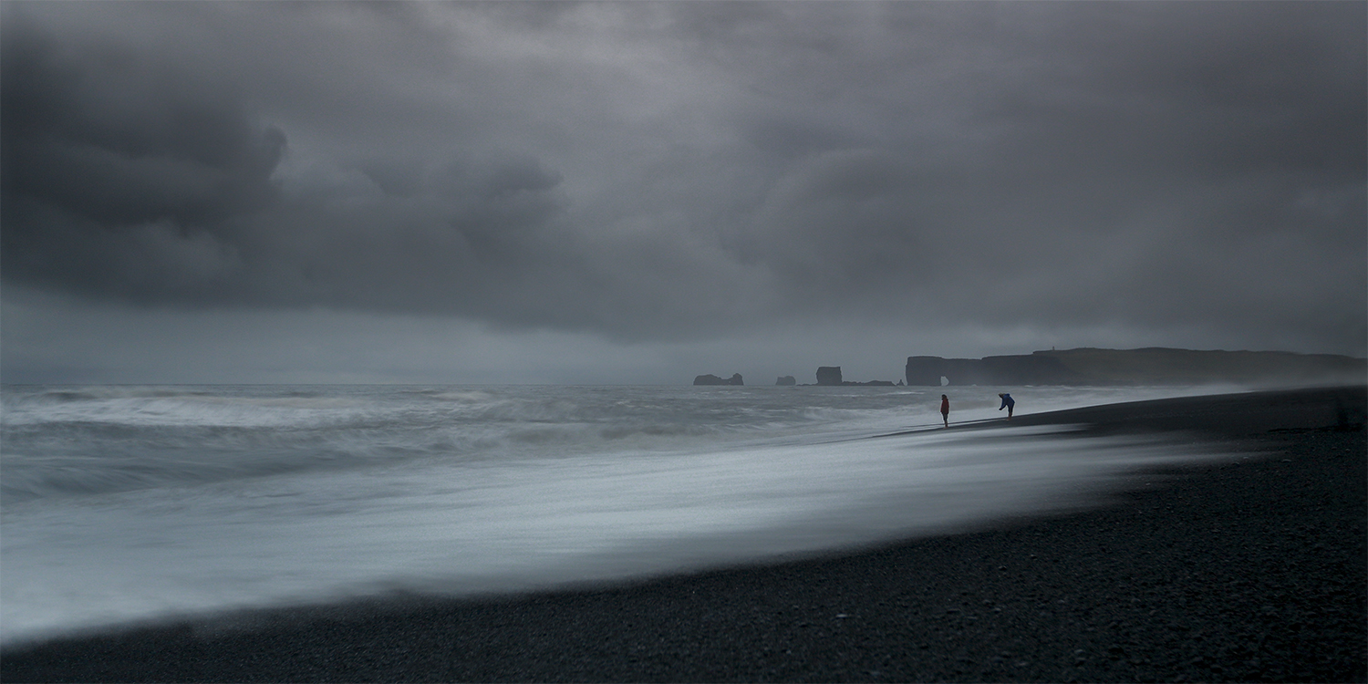 Reynisfjara at the south coast