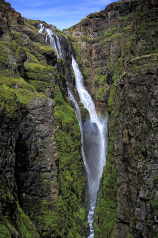 Glymur, the waterfall