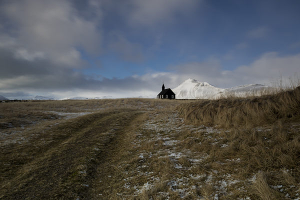 The black church at Búðir