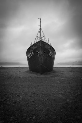 The oldest steal ship in Iceland