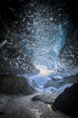 Entrance to an Ice cave